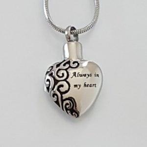 ashanger always in my heart zilver