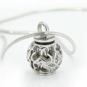 ashanger bol edelstaal zilver