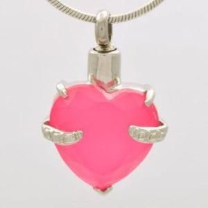 ashanger, pink stone