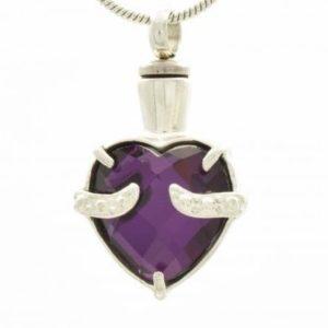 ashanger, purple stone