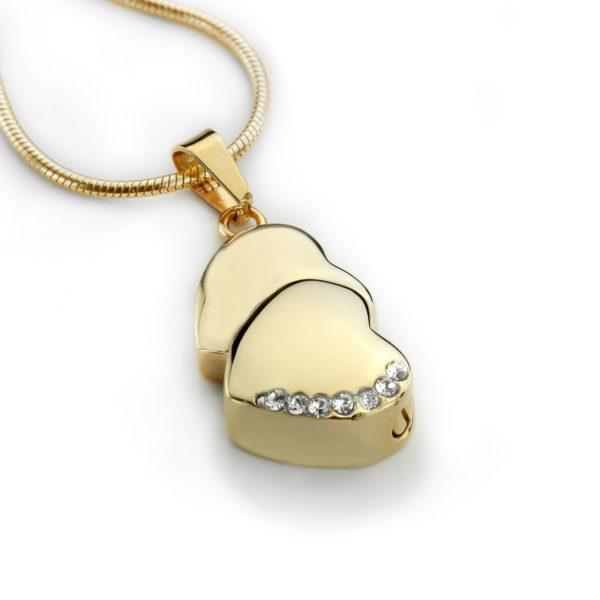 ashanger twin heart gold