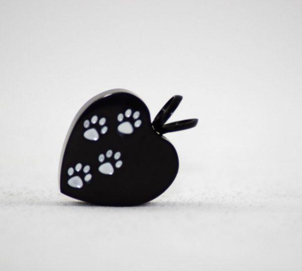 dieren ashanger hartvormig zwart