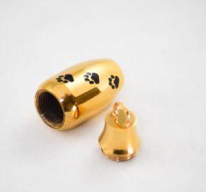 dieren ashanger model urn goudkleurig