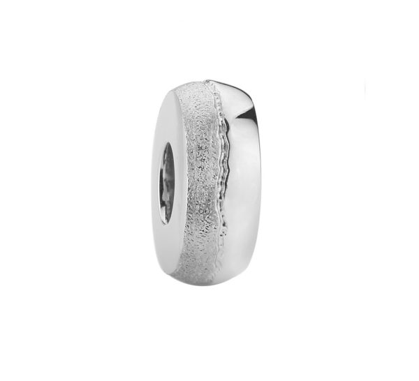 zilveren asbedel, glanzend en mat zilver