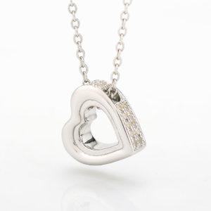 zilveren ashanger, hart memorial