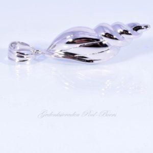 zilveren ashanger schelp (2)