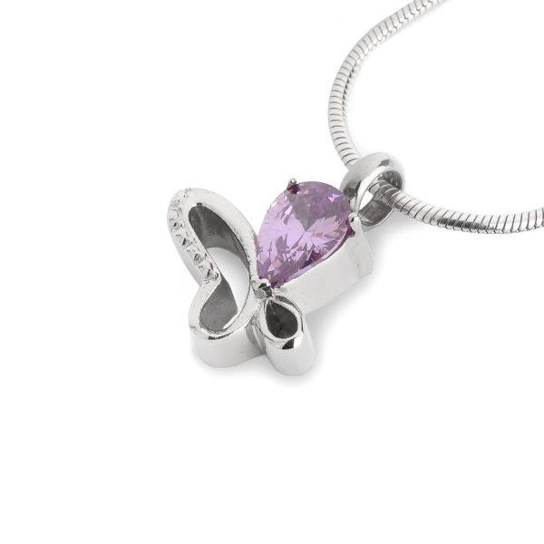 ashanger butterfly purple stone