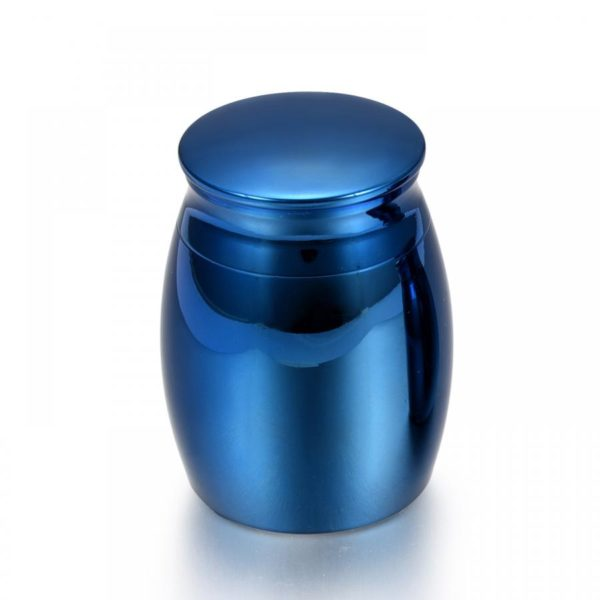 mini urn, model mini edelstaal design