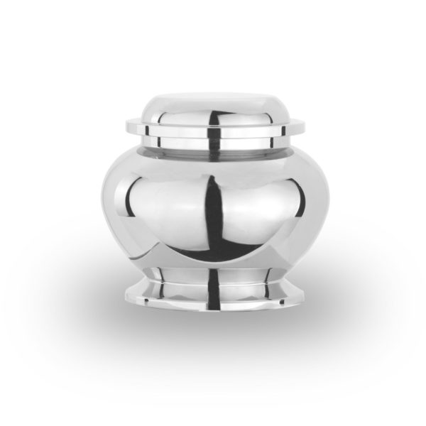 mini urn, model midi edelstaal design