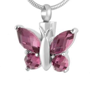 ashanger paarse vlinder