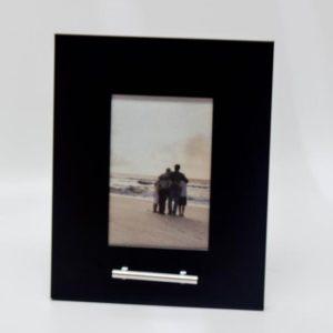 fotolijst urn, zwart