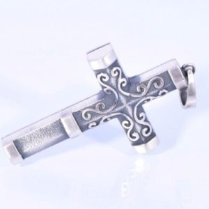 Ashanger Kruis - Zwart Zilver