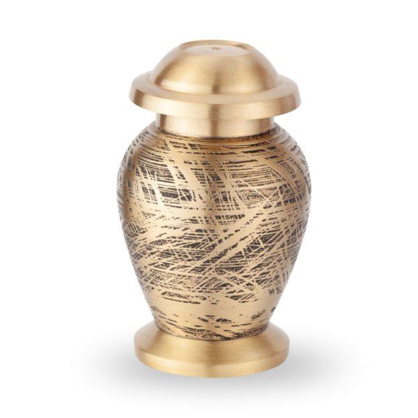 Mini Urn – Goud met herinneringen