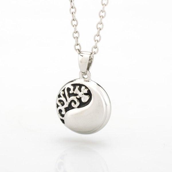 ashanger yin yang zilver