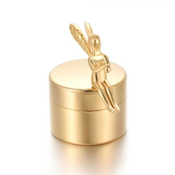 mini urn engel goud