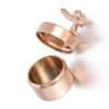 mini urne engel rosé goud, mini urnen, mini urn edelstaal rvs