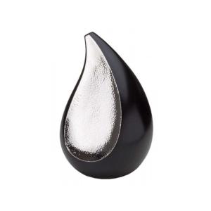 Grote Urn Traan Zwart Zilver