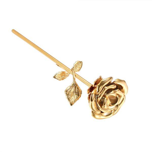 mini urn roos goud verguld