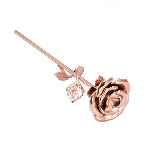 Mini urn roos rosé goud