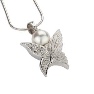 Ashanger Vlinder - Zilver Parel