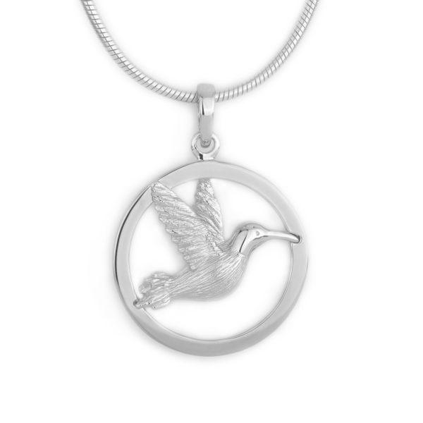 Zilveren ashanger kolibrie