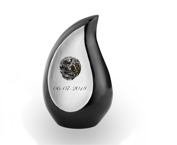 Mini Urn Traan Fingerprint