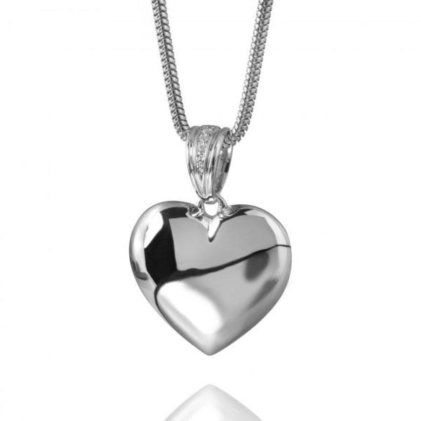 ashanger hart Sterling zilver