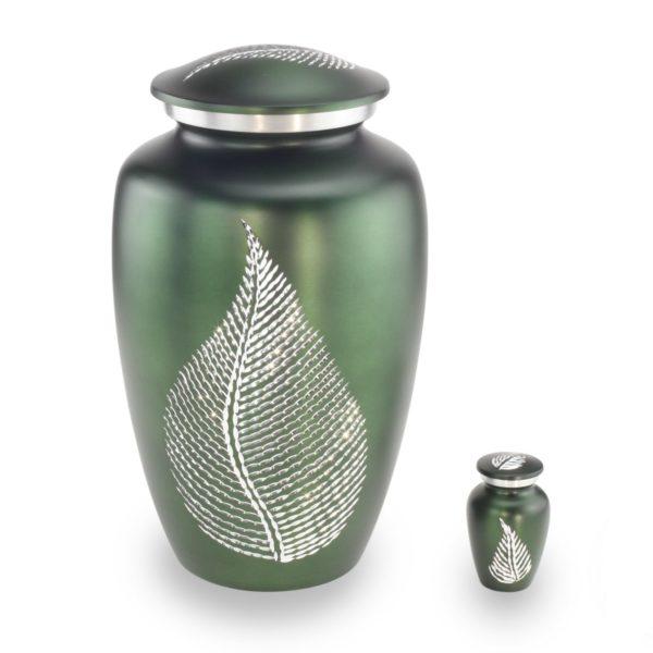 Grote Urn Design Groen