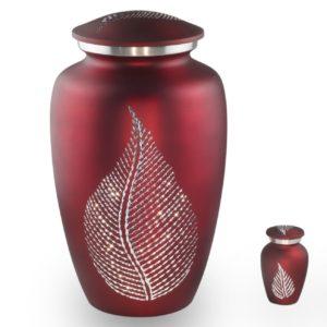 Grote Urn Design Rood