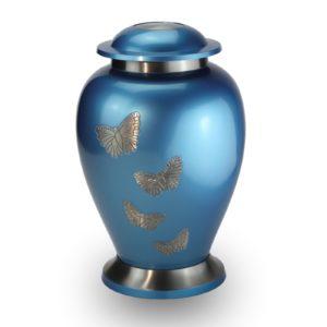 Grote Urn Vlinders hemelsblauw