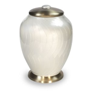 Grote Urn Witmarmer Exclusive