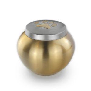 Dieren urn medium Goud