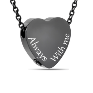 ashanger zwart hart